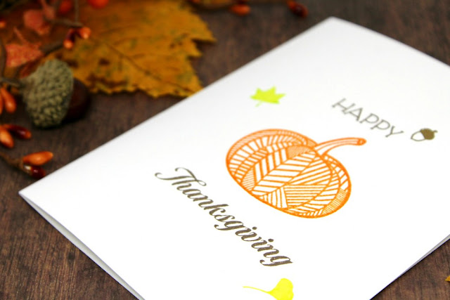 professional thanksgiving day greeting card