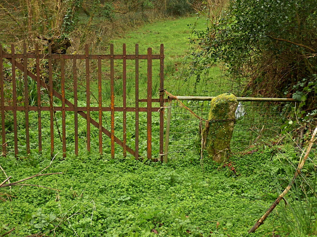 Gate, Gover Road, St.Austell, Cornwall
