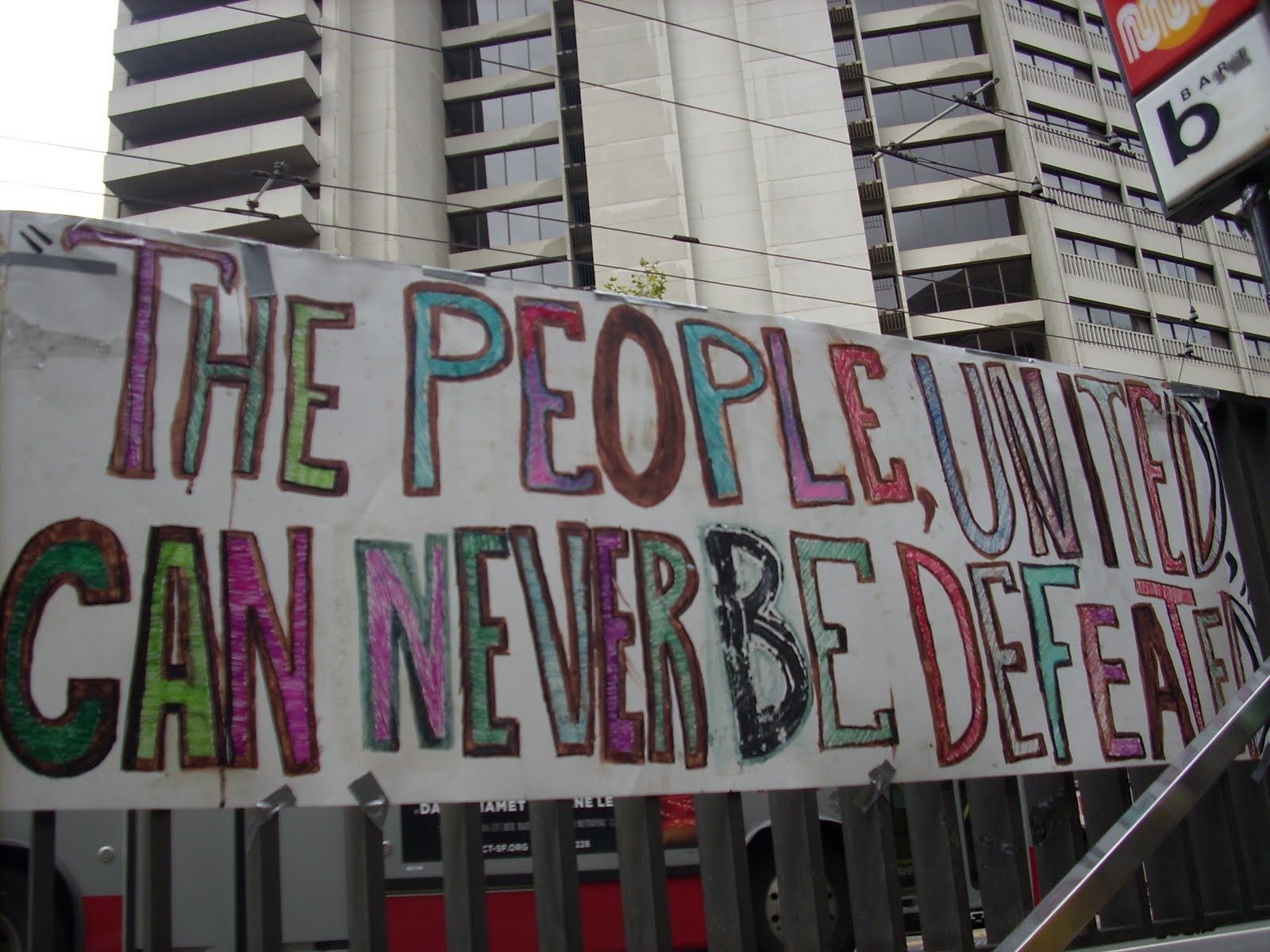 The Free Farm: Occupy gardens