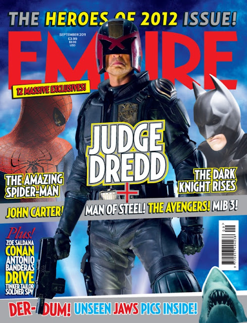 Juez Dredd en la revista Empire