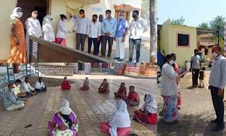 कोविड के लिए उपयुक्त व्यवहार का पालन करने से अहमदनगर जिले का एक और गांव कोविड मुक्त हो गया  ग्रामीणों के व्यवहार में परिर्वतन लाने में ग्राम पंचायत की अहम भूमिका रही
