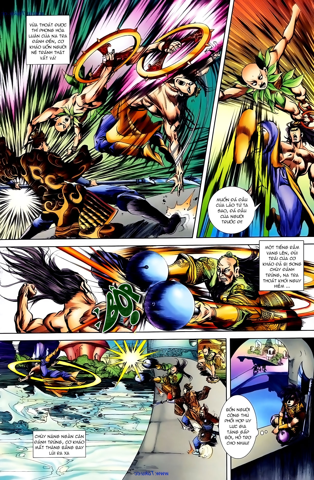 Cơ Phát Khai Chu Bản chapter 103 trang 21