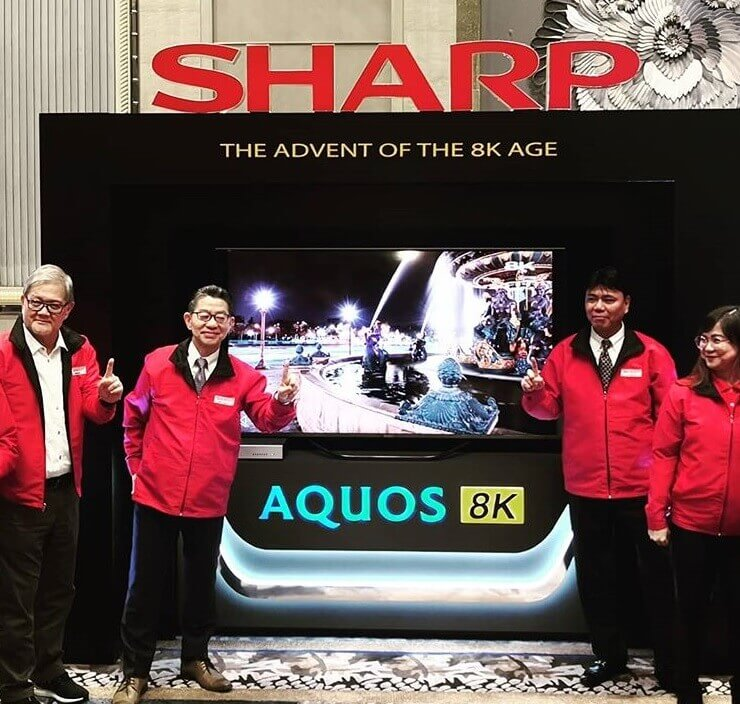 Sharp AQUOS 8K LED TV; Price Starts at Php380K Only