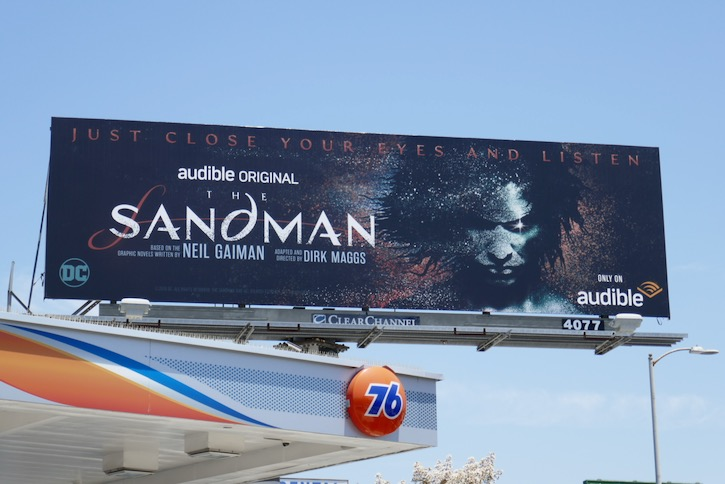 Sandman Audible billboard