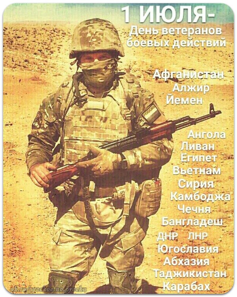 Веселые картинки, открытка в день ветеранов боевых действий