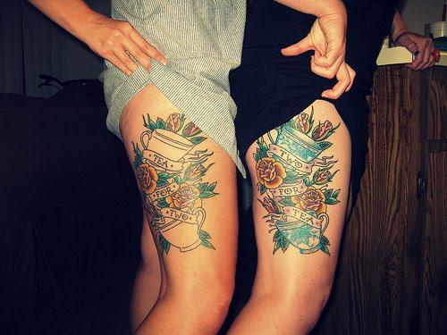 best friend tattoos flash tattoo design