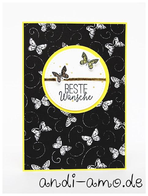 Stampin Up Schmetterlingsglück und Schwärme voll Glück
