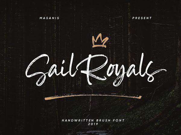 Sail Royals Brush Script Font Free Download