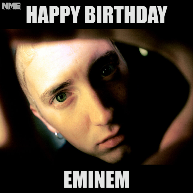 Eminem's Birthday Wishes