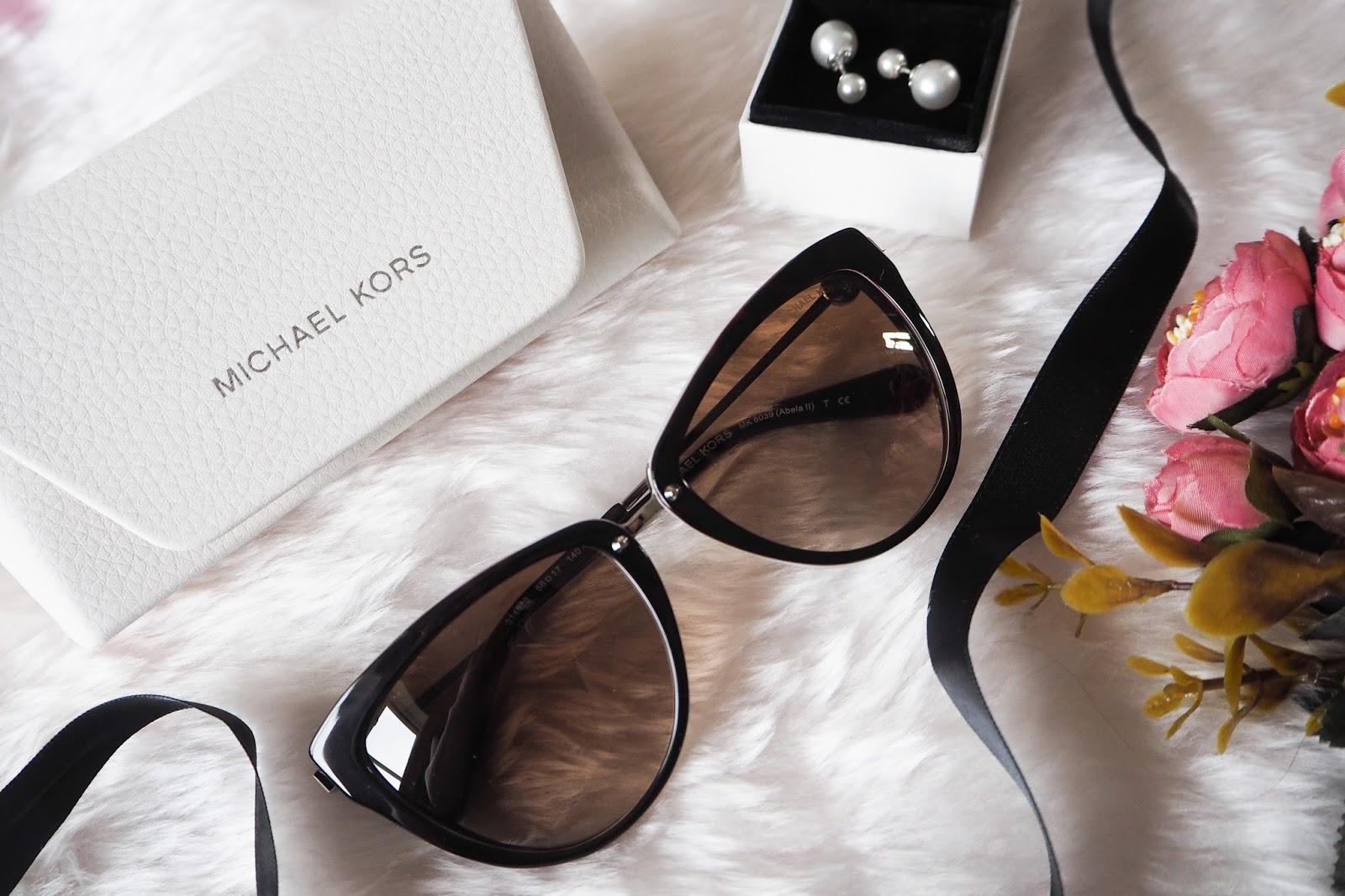 Close up of Discount Designer Sunglasses Michael Kors