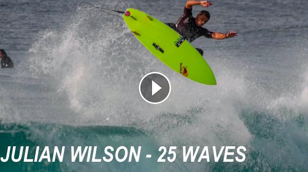 Julian Wilson - 25 Waves