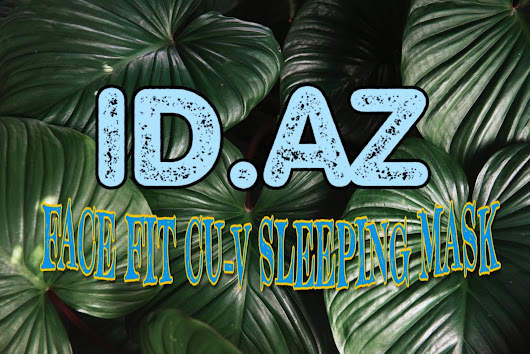 ID.AZ FACE FIT CU-V SLEEPING MASK