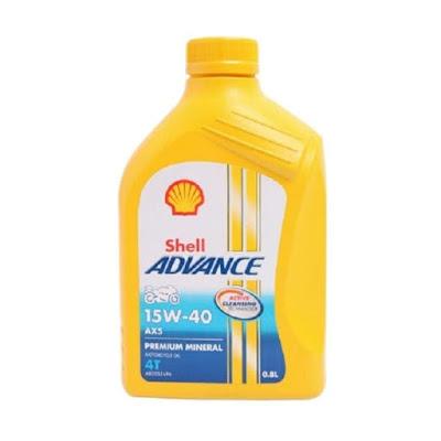 Review Oli Shell Advance AX5 4T 15W-50