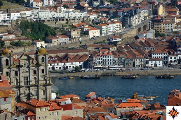 Oporto, vista dalla Torre dos Clerigos