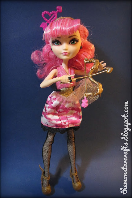 Ever After High Cupid doll review