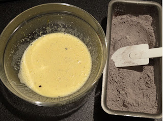 impasto plumcake al cacao fatto in casa