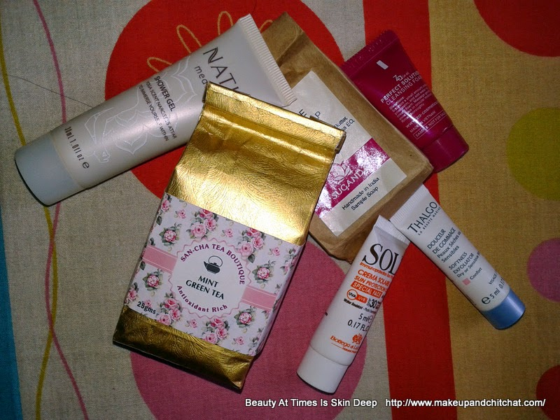 My Envy Box of November| My Detox Box| My Envy Box Detox