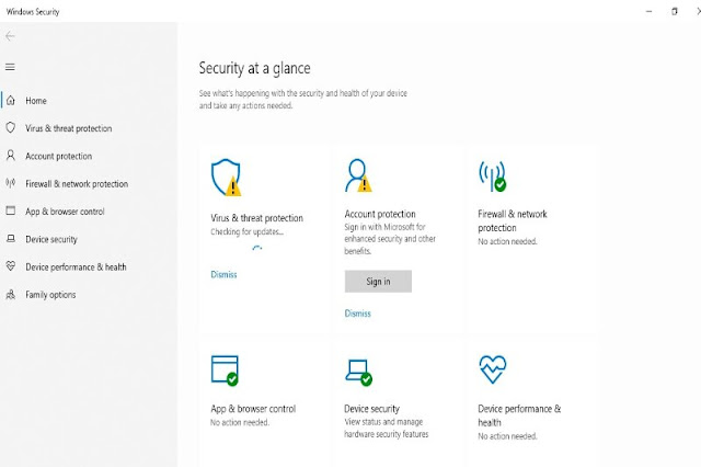 Update Windows Defender for your data protection