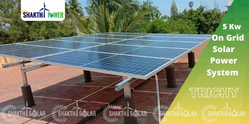 5 Kw Solar Energy System In Trichy