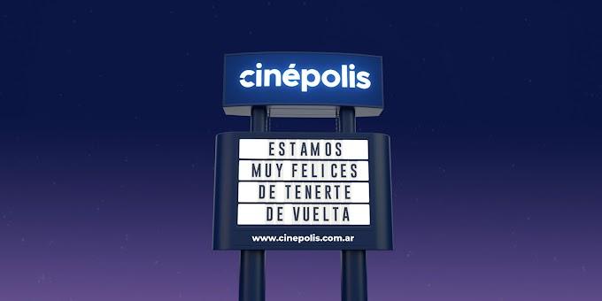 Cinépolis Merlo volvió abrir con 8 películas en cartelera