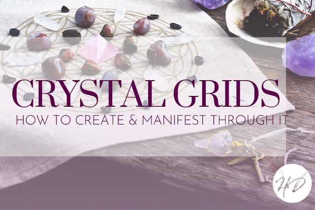 How To Create Crystal Grids For Manifesting