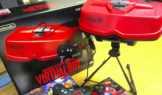 Interfaz de Nintendo Switch tiene referencias a la realidad virtual