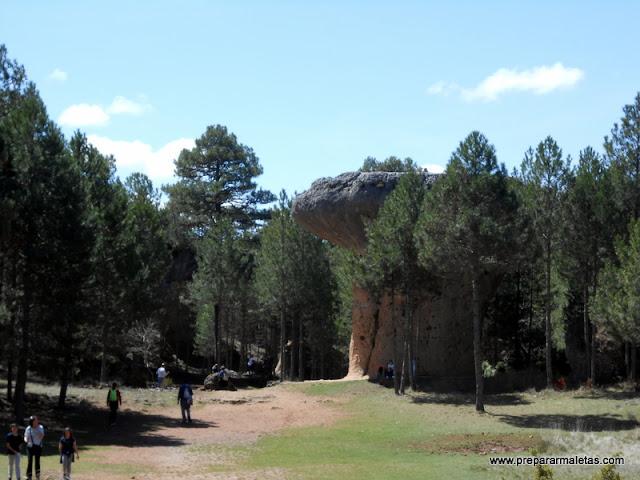 El Tormo Alto en la Ciudad Encantada de Cuenca