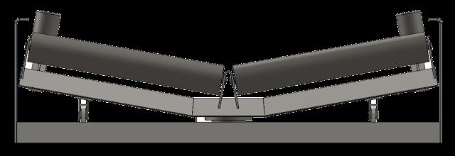 Roller Idler Pada Conveyor System