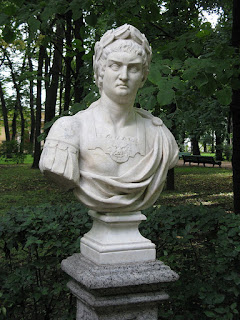 This bust of Nero can be found in the  Summer Garden in St Petersburg, Russia