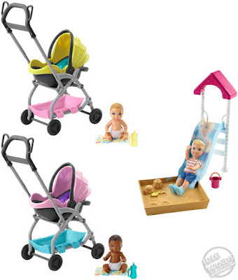 Toy Fair 2019 Mattel Barbie Skipper Babysitters INC Doll & Playset Assortment 27