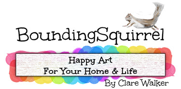 BoundingSquirrel-Happy Art for Your Home and Life.