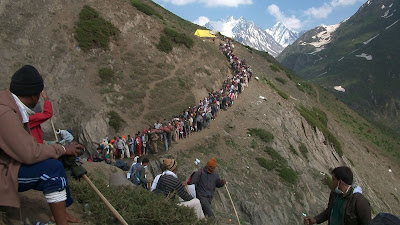 Amarnath Yatra Leaves With High Security Uttar Pradesh
