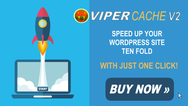 Speed Up Your WordPress with Viper Cache V2