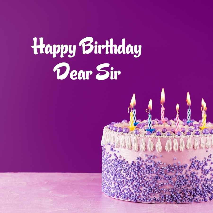 happy birthday to you sir