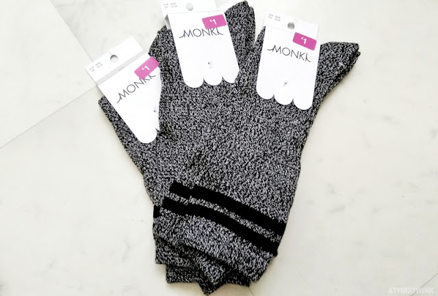 Monki store Rotterdam sale black white pattern stripes socks
