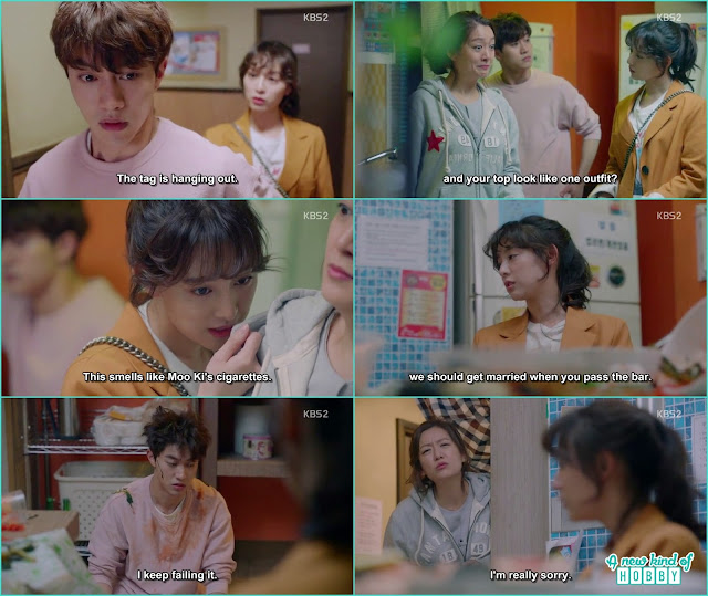 ae ra boyfriend cheated on her and pregnant an old lady with his baby - Fight for my Way: Episode 1 korean Drama