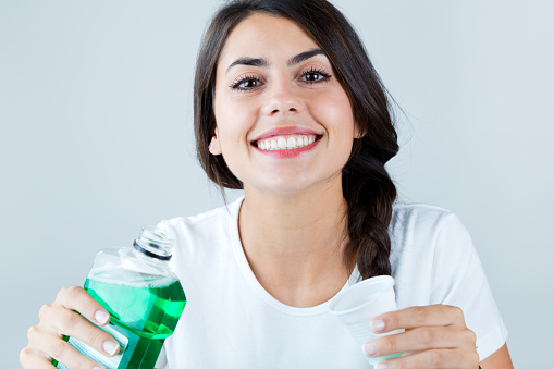 Mouth Wash your face at home to get rid of bad breath
