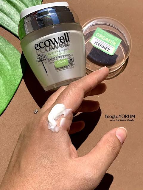ecowell diamond advanced anti age ginkgo face crem organik yüz kremi özellikleri