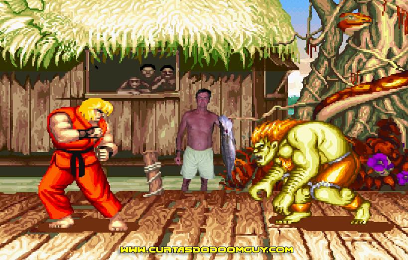 Cenário inesquecível dos games de luta