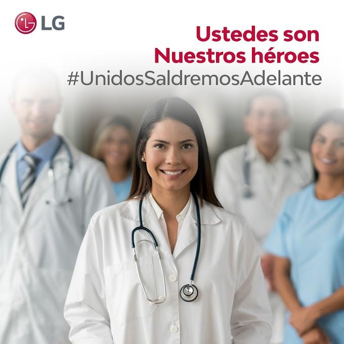 LG agradece al personal de salud en su día mundial 7 de abril día mundial de la salud.