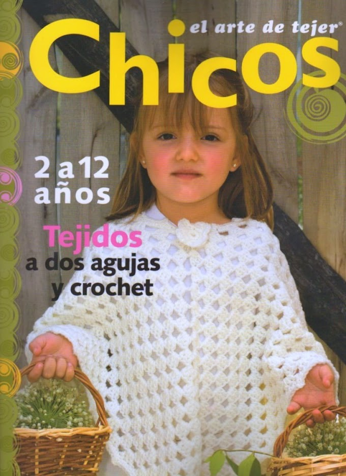 El Arte de Tejer Chicos- Revista Tricô  A arte da tecelagem Meninos