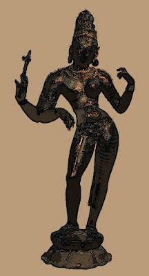 Shiva, androgyne, dieu,
