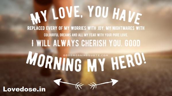 Special Heartfelt Good Morning Messages for Him