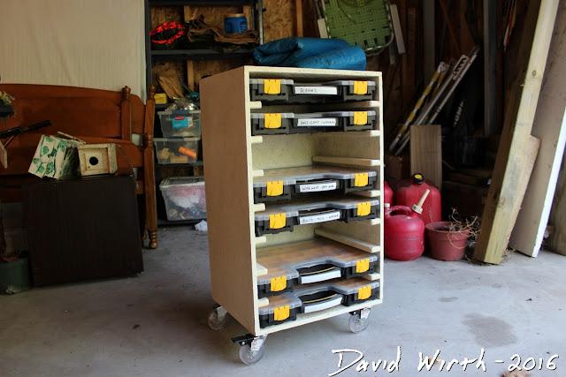 Organize Cart Small Rack Build Plans
