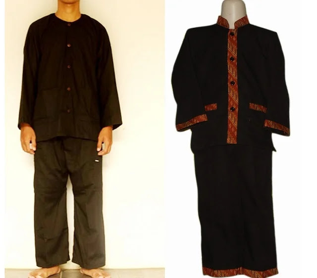 Pakaian Adat Pangsi - Banten