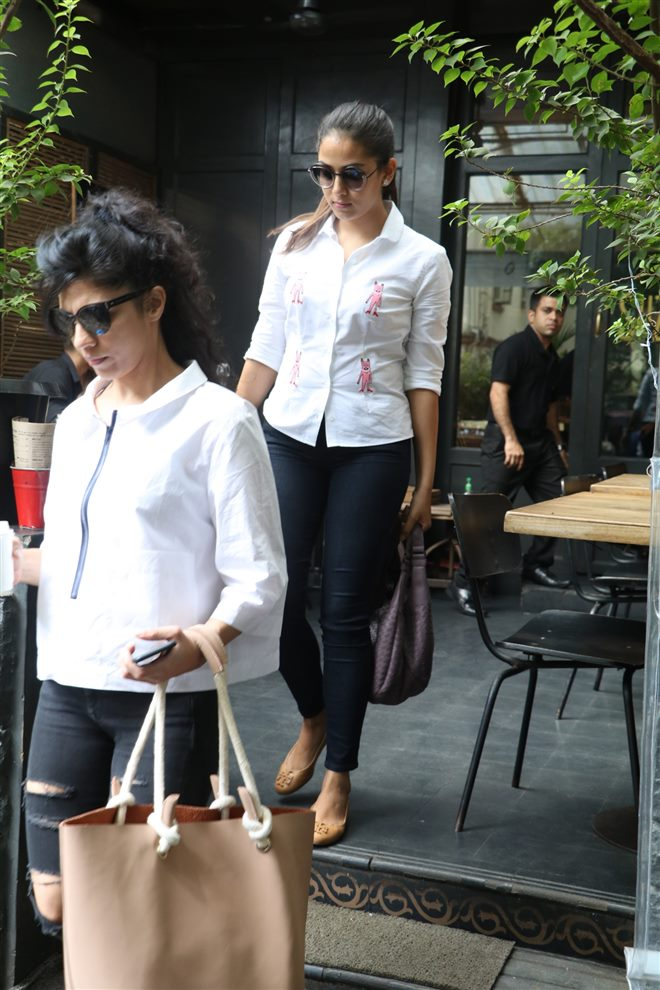 Mira Rajput Spotted At Suzette, Bandra