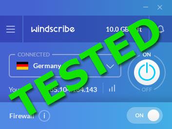 Windscribe PRO 24h Method