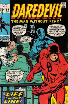 Daredevil #69, the Black Panther