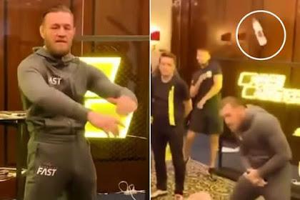 McGregor Dilempar Botol Setelah Hina Tanah Kelahiran Khabib