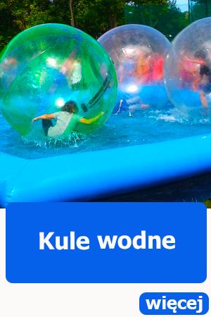 Kule wodne Wrocław, atrakcje dla dzieci, dmuchańce